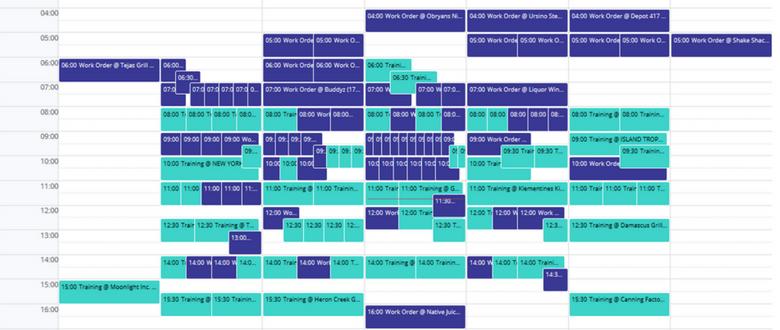 Relay Calendar View