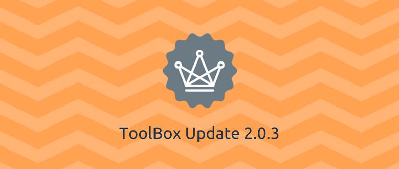 ToolBox Update 2.0.3