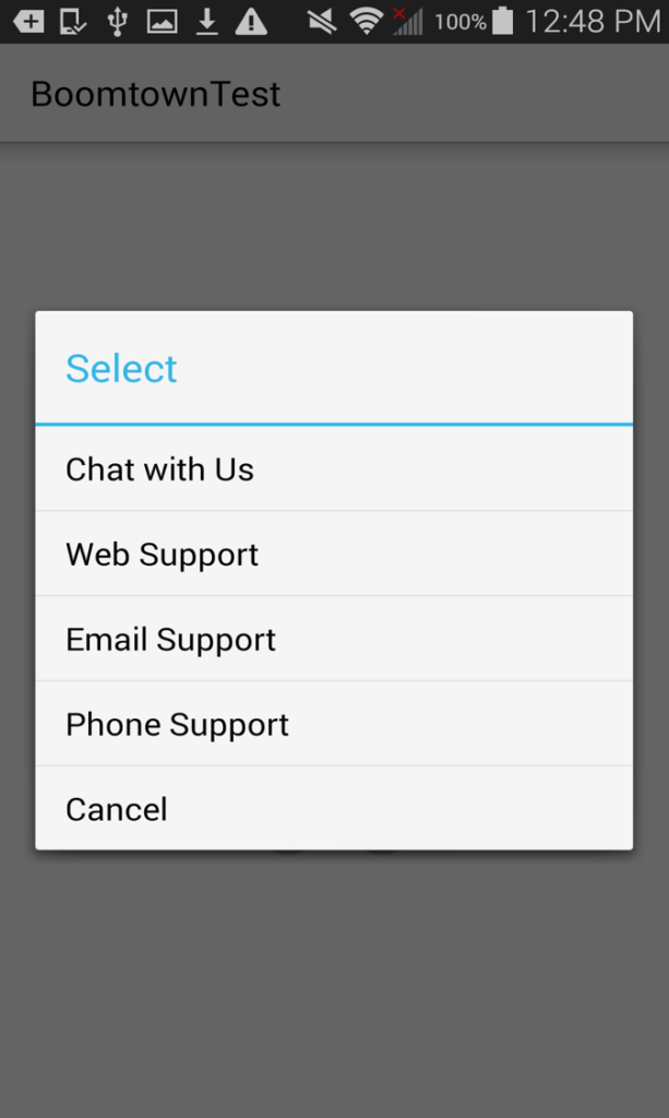 Embedded Chat allows users to chat in your own Proprietary Application with notifications going to Relay.