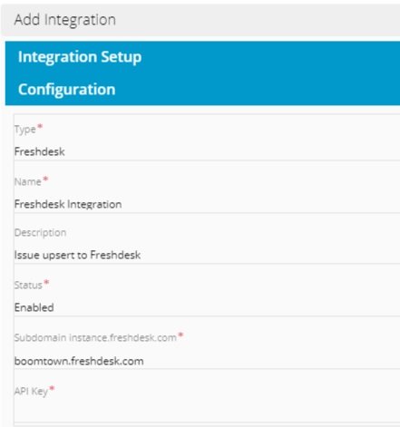 Setting up a Freshdesk integration in Relay.