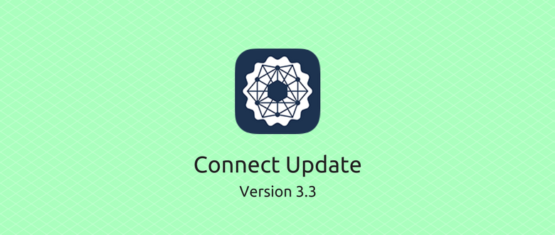 Connect Update v3.3