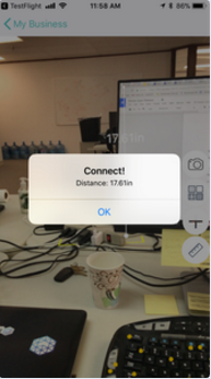 Boomtown Connect AR Distance Measurement Done