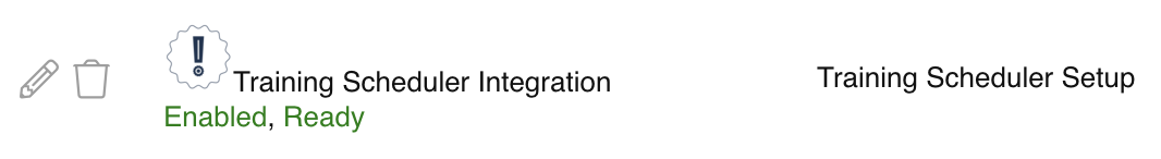 Relay Training Scheduler Integration 1
