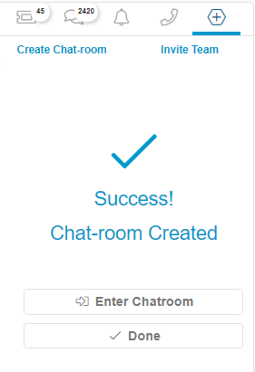 Relay Chat Create Room