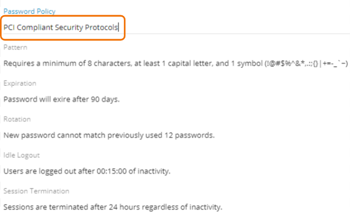 Relay Password Security 1