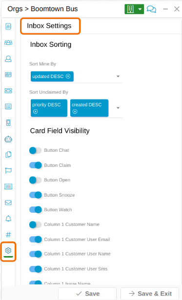 Relay Inbox Customization 00