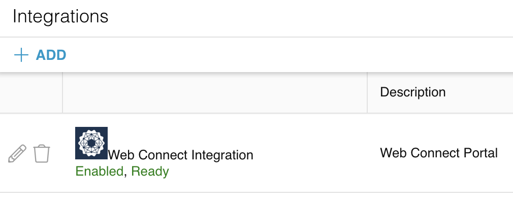 Relay Set up Web Connect Integration 2