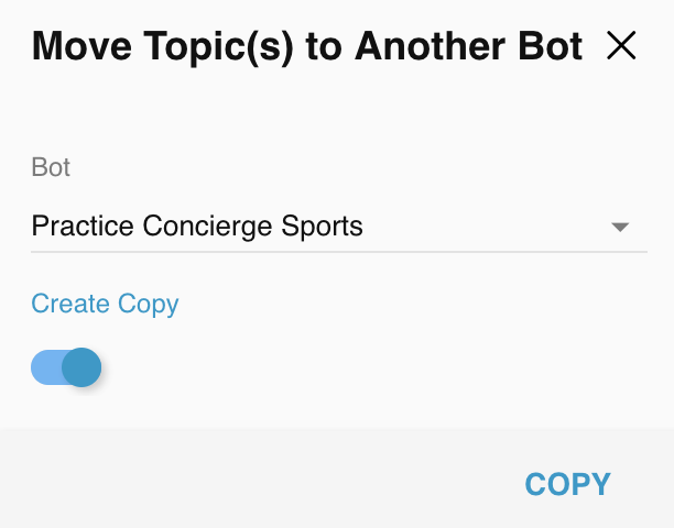 Relay Copy Move Bot Topics