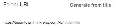 Relay Add KB folders 4