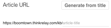 Relay add KB Article 3